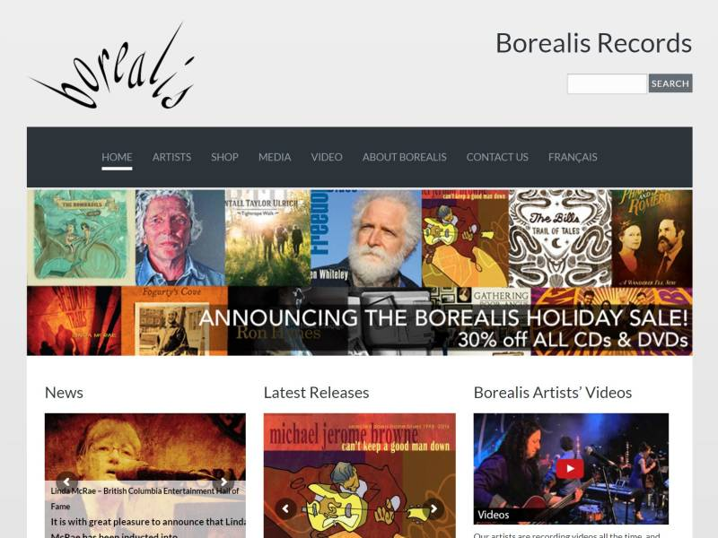 BorealisRecords.com