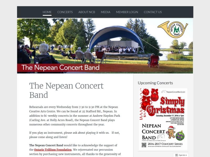 NepeanConcertBand.com