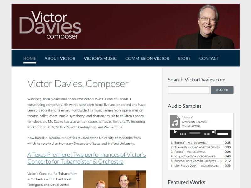 VictorDavies.com