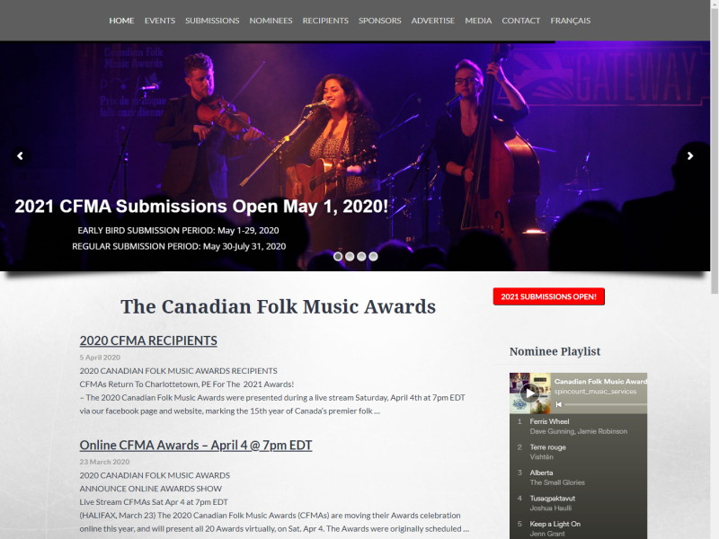 Canadian Folk Music Awards (CFMAs)