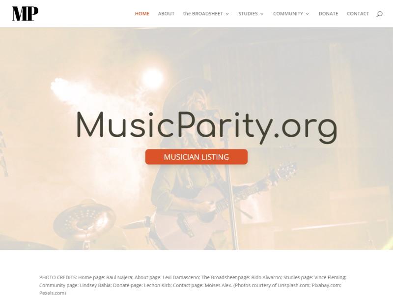 MusicParity.org